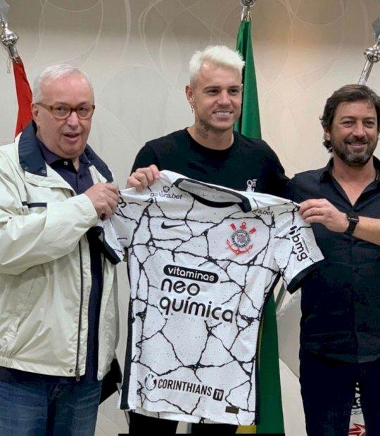 Corinthians anuncia a contratação do atacante Róger Guedes